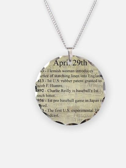 April 29th Necklace
