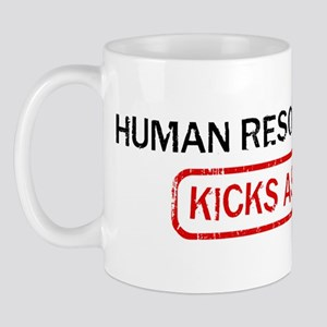 HUMAN RESOURCES kicks ass Mug
