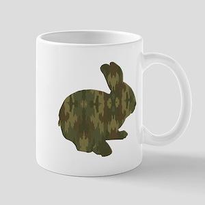 Camouflage Easter Bunny Mugs