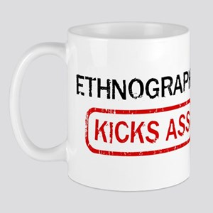 ETHNOGRAPHY kicks ass Mug