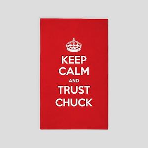 Trust Chuck 3'x5' Area Rug