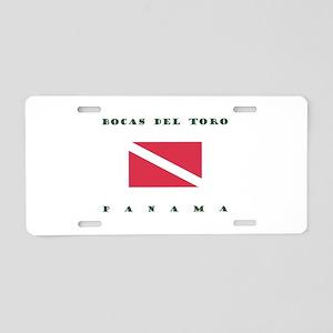 Bocas del Toro Panama Dive Aluminum License Plate