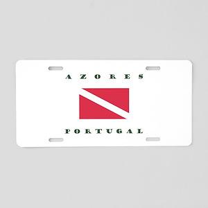 Azores Portugal Dive Aluminum License Plate