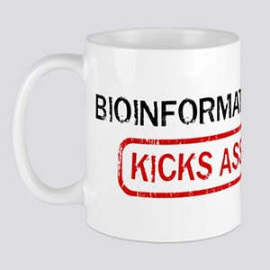 BIOINFORMATICS kicks ass Mug