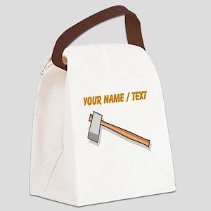 Custom Axe Canvas Lunch Bag