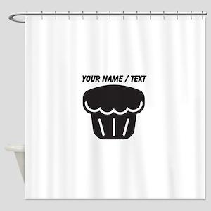 Custom Muffin Shower Curtain