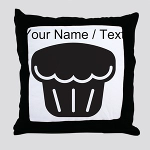 Custom Muffin Throw Pillow