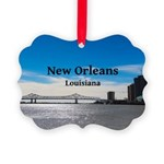 New Orleans Picture Ornament