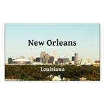 New Orleans Sticker (Rectangle 50 pk)