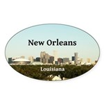 New Orleans Sticker (Oval 50 pk)