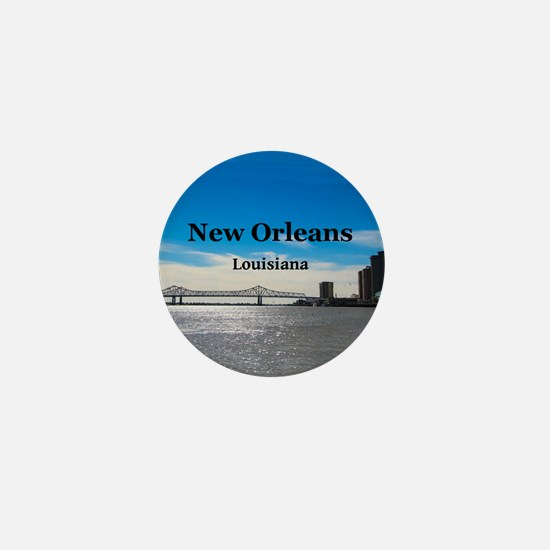 New Orleans Mini Button