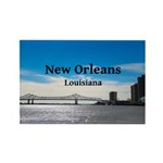 New Orleans Rectangle Magnet (100 pack)