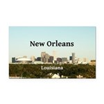 New Orleans Rectangle Car Magnet