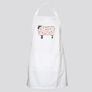 Floral Sheep Apron