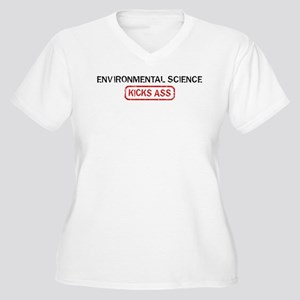ENVIRONMENTAL SCIENCE kicks a Women's Plus Size V-