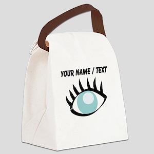 Custom Eye Canvas Lunch Bag