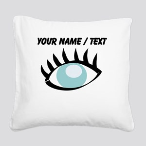 Custom Eye Square Canvas Pillow