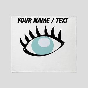 Custom Eye Throw Blanket