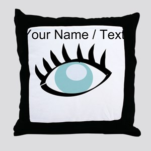 Custom Eye Throw Pillow