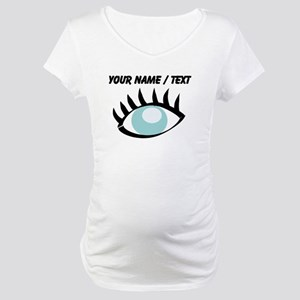 Custom Eye Maternity T-Shirt