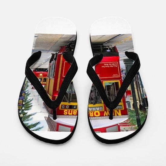 New Orleans Flip Flops