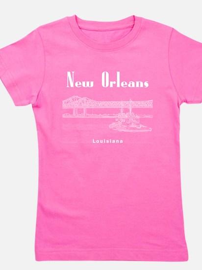 New Orleans Girl's Tee