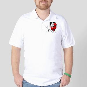 Spider-Man Face Golf Shirt