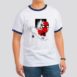 Spider-Man Face Ringer T