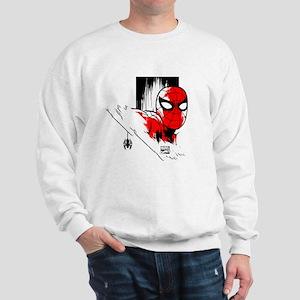 Spider-Man Face Sweatshirt