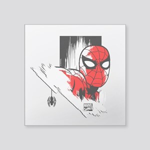 "Spider-Man Face Square Sticker 3"" x 3"""