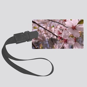 Cherry Blossoms Large Luggage Tag