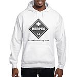 Herpes Hooded Sweatshirt
