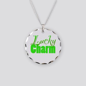 Lucky Charm Green Necklace