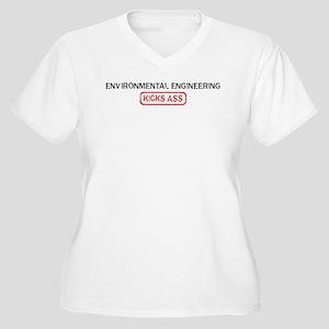 ENVIRONMENTAL ENGINEERING kic Women's Plus Size V-