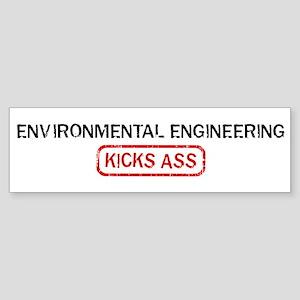 ENVIRONMENTAL ENGINEERING kic Bumper Sticker