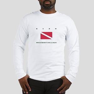 Gizo Solomon Islands Dive Long Sleeve T-Shirt