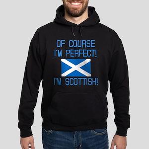 I'M PERFECT I'M SCOTTISH Hoodie (dark)