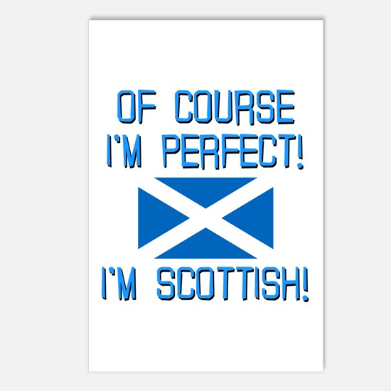 I'm Perfect I'm Scottish Postcards (Package of 8)