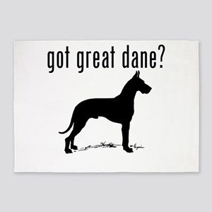 got great dane? 5'x7'Area Rug