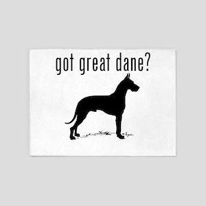 got great dane? 5'x7'Area Rug