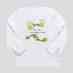 Hands Feet Long Sleeve T-Shirt