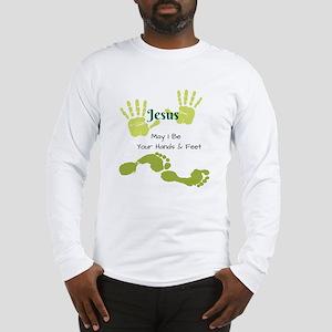Hands Feet Long Sleeve T-Shirt