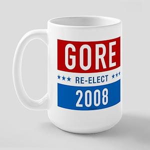 Re-elect Al Gore Large Mug
