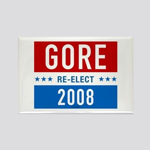 Re-elect Al Gore Rectangle Magnet