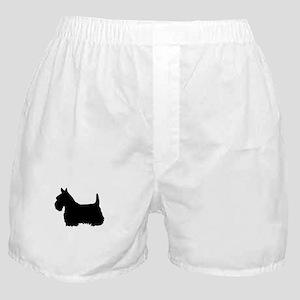scottish terrier 1 Boxer Shorts