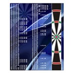 Darts Abyss Out Chart Small Poster