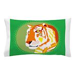 Golden Tiger Pillow Case