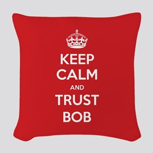 Trust Bob Woven Throw Pillow
