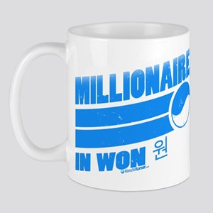 Millionaire in Won Mug