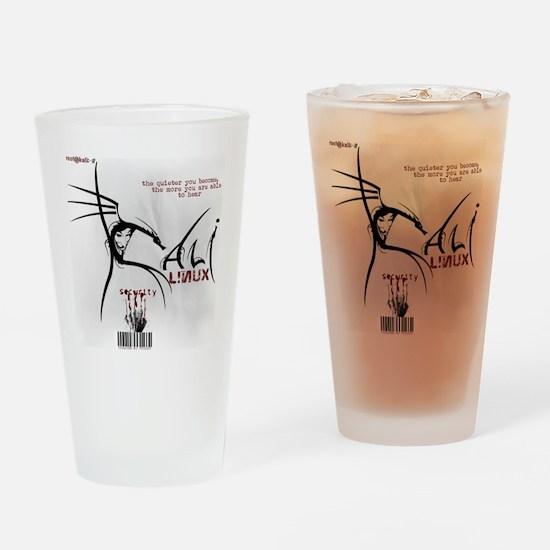 Kali Linux Logo Drinking Glass